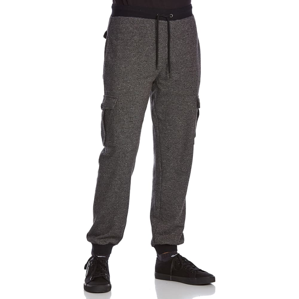 OCEAN CURRENT Guys' Cohen Cargo Jogger Pants - BLACK
