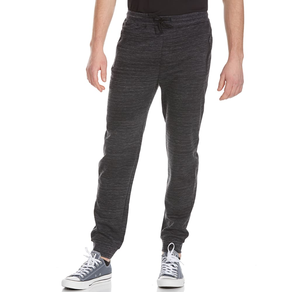 OCEAN CURRENT Guys' Dynamic Fleece Jogger Pants - BLACK