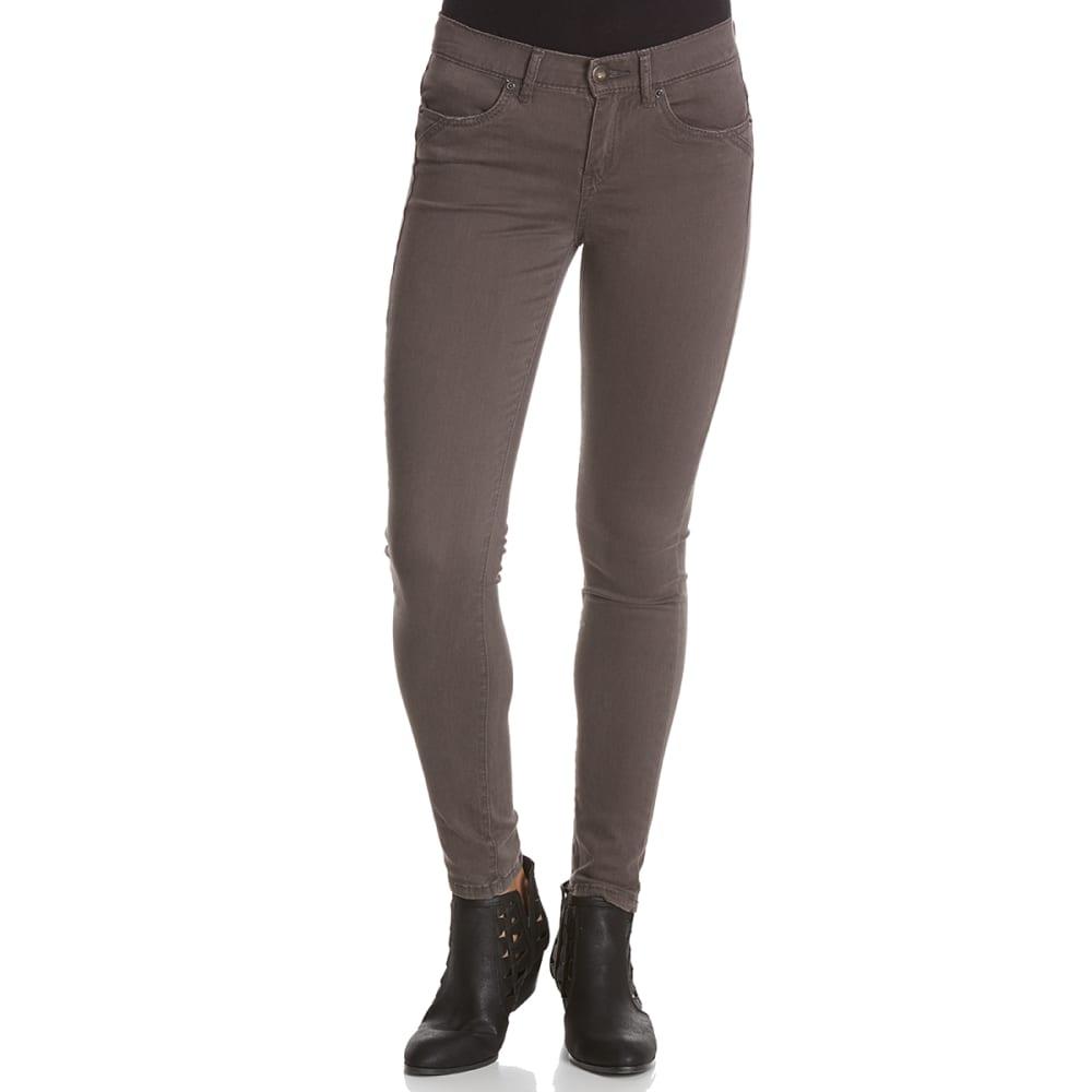 UNIONBAY Juniors' Karma Desert Twill 5-Pocket Skinny Pants 0