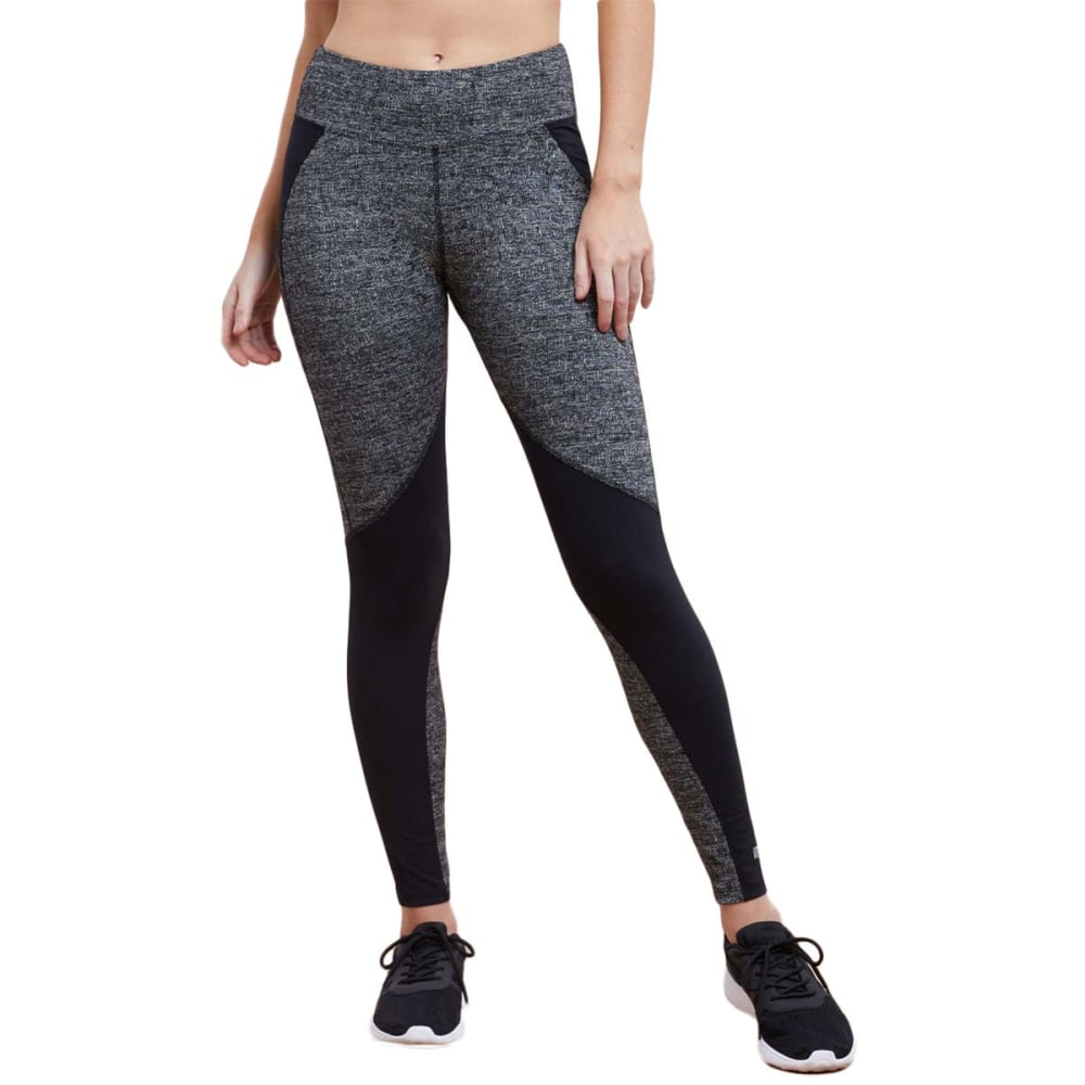 MARIKA Women's Jordan Cosmos Leggings - HTR GRY/BLACK-00A