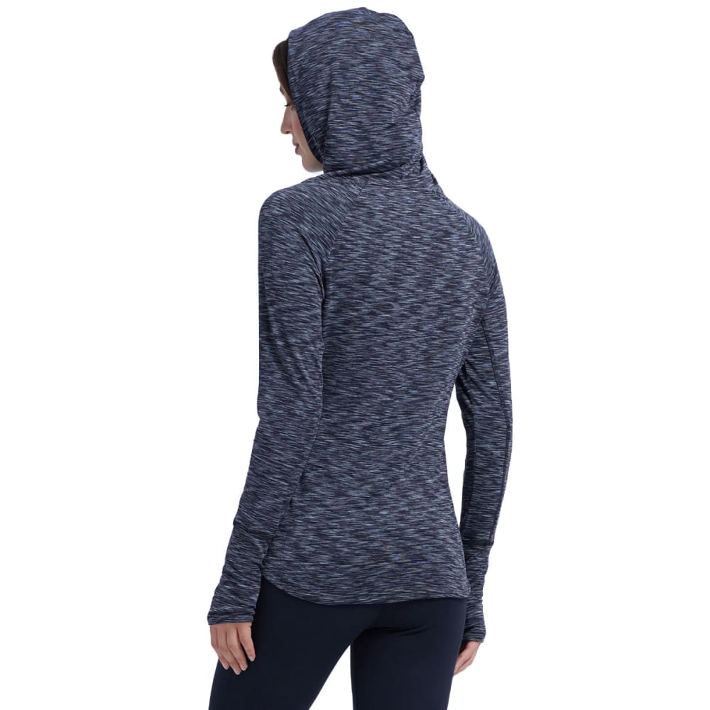 MARIKA Women's Explorer Cowl Neck Hoodie - BLACK/GREY-0SV