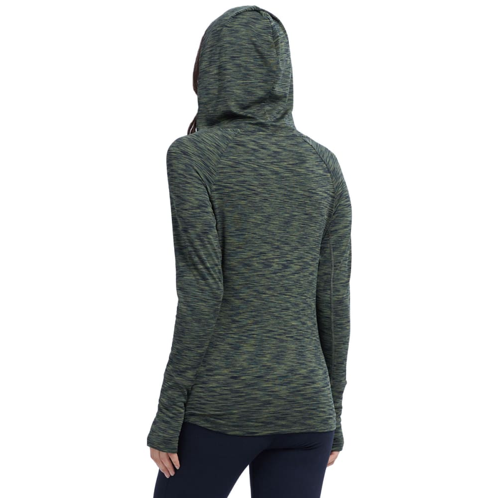 MARIKA Women's Explorer Cowl Neck Hoodie - FOREST NIGHT-3D4