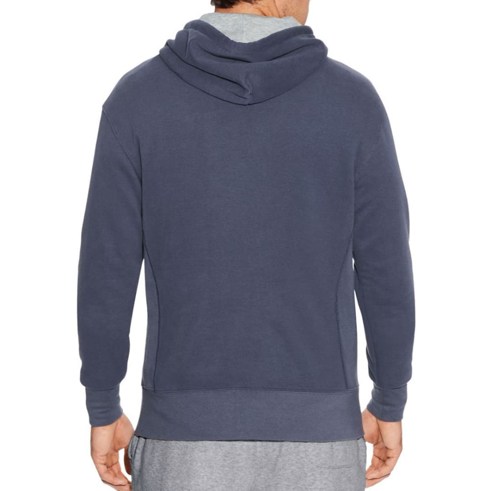 CHAMPION Men's Heritage Fleece Pullover Hoodie - ANCHOR SLATE-YI9