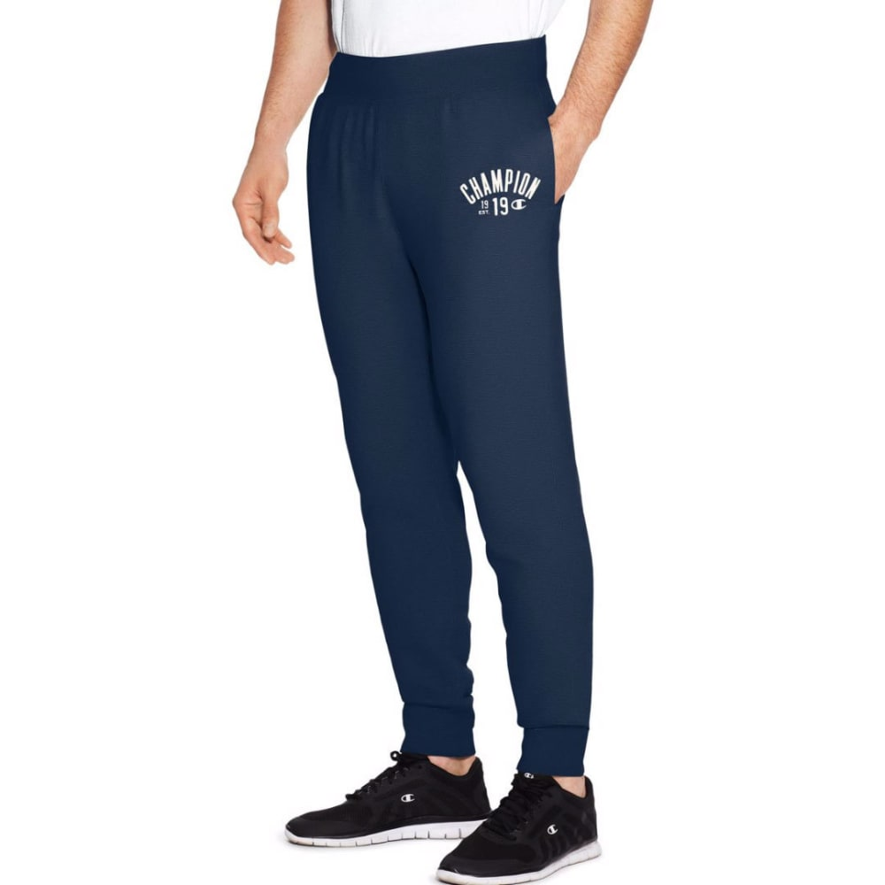 CHAMPION Men's Heritage Fleece Jogger Pants - ANCHOR SLATE-YI9