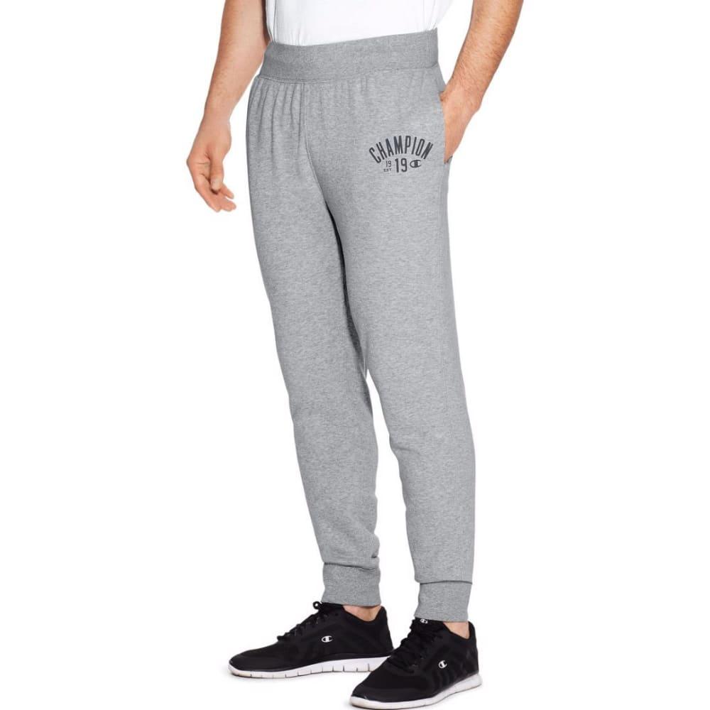 CHAMPION Men's Heritage Fleece Jogger Pants - OXFORD GREY-806