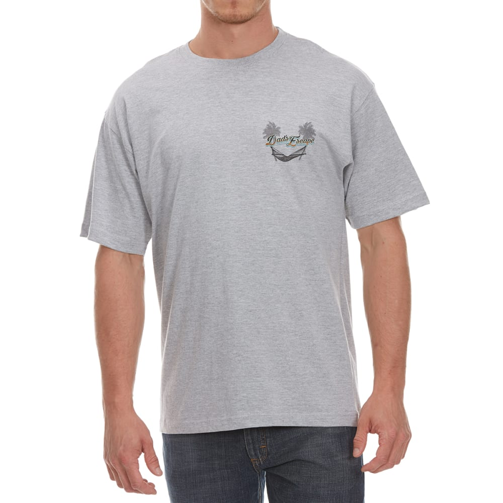 NEWPORT BLUE Men's Dad's Escape Short-Sleeve Tee - FOG HTR