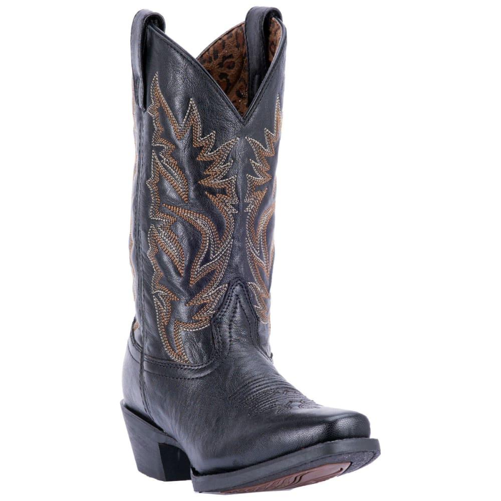 LAREDO Women's Christine Cowboy Boots, Black - BLACK