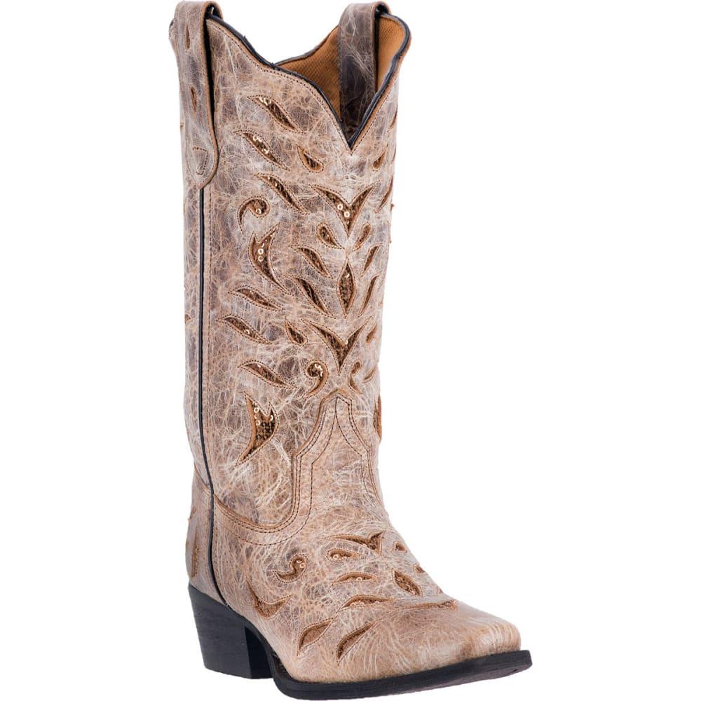 LAREDO Women's Roxanne Cowboy Boots, Tan - TAN