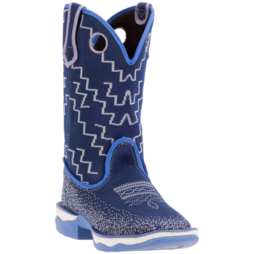 LAREDO Women's Perform Air Frolic Cowboy Boots, Blue - BLUE