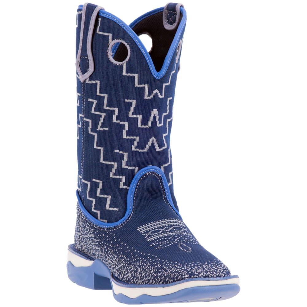 LAREDO Women's Perform Air Frolic Cowboy Boots, Blue - BLUE