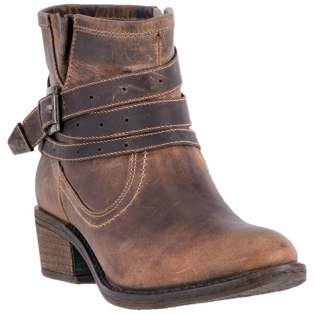 DINGO Women's Bay Ridge Ankle Boots, Brown - TAN