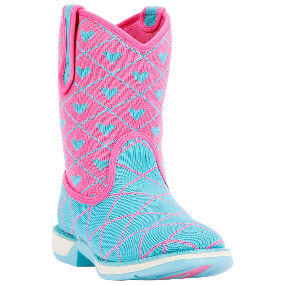LAREDO Girls' Perform Air Spryte Boots, Pink - BLUE/PINK