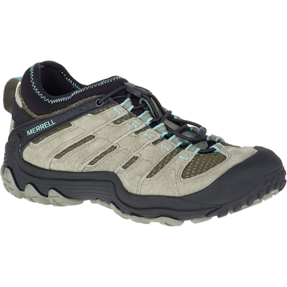 Merrell Women's Chameleon 7 Limit Stretch Low Hiking Shoes, Dusty Olive - Green, 6