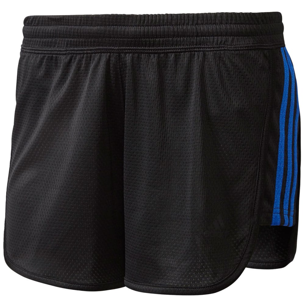 Adidas Women's 3-Stripe Knit Shorts - Black, S