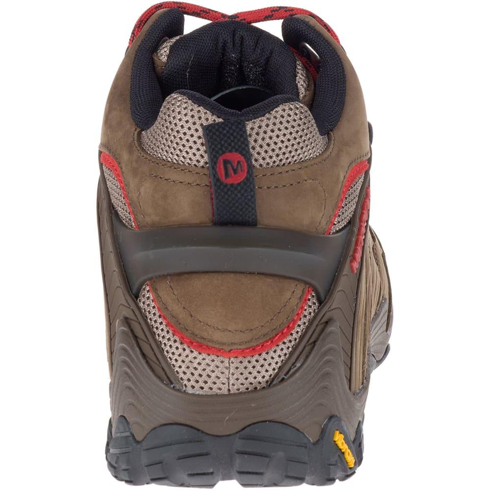 MERRELL Men's Chameleon 7 Mid Waterproof Hiking Boots, Boulder - BOULDER