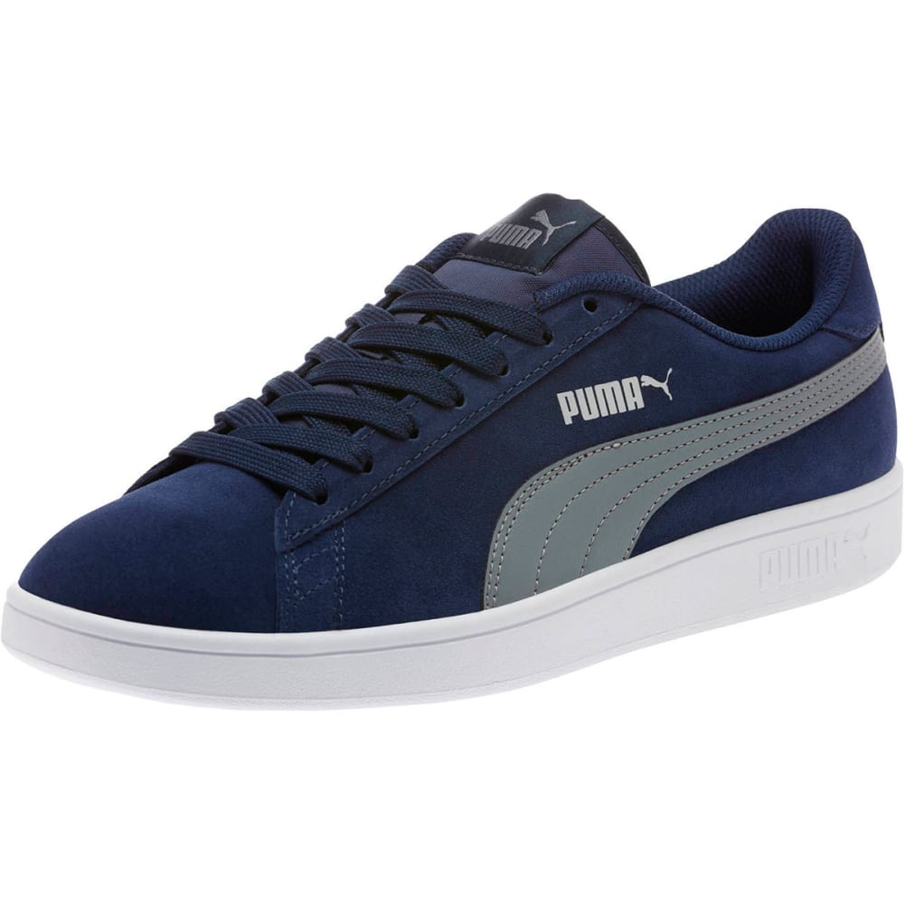 Puma Men's Smash V2 Sneakers - Blue, 8.5
