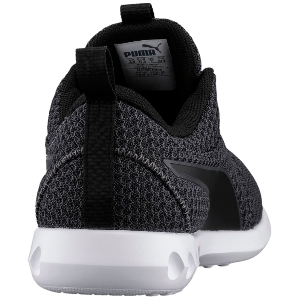 PUMA Women's Carson 2 Knit Running Shoes, Black/Periscope - BLACK
