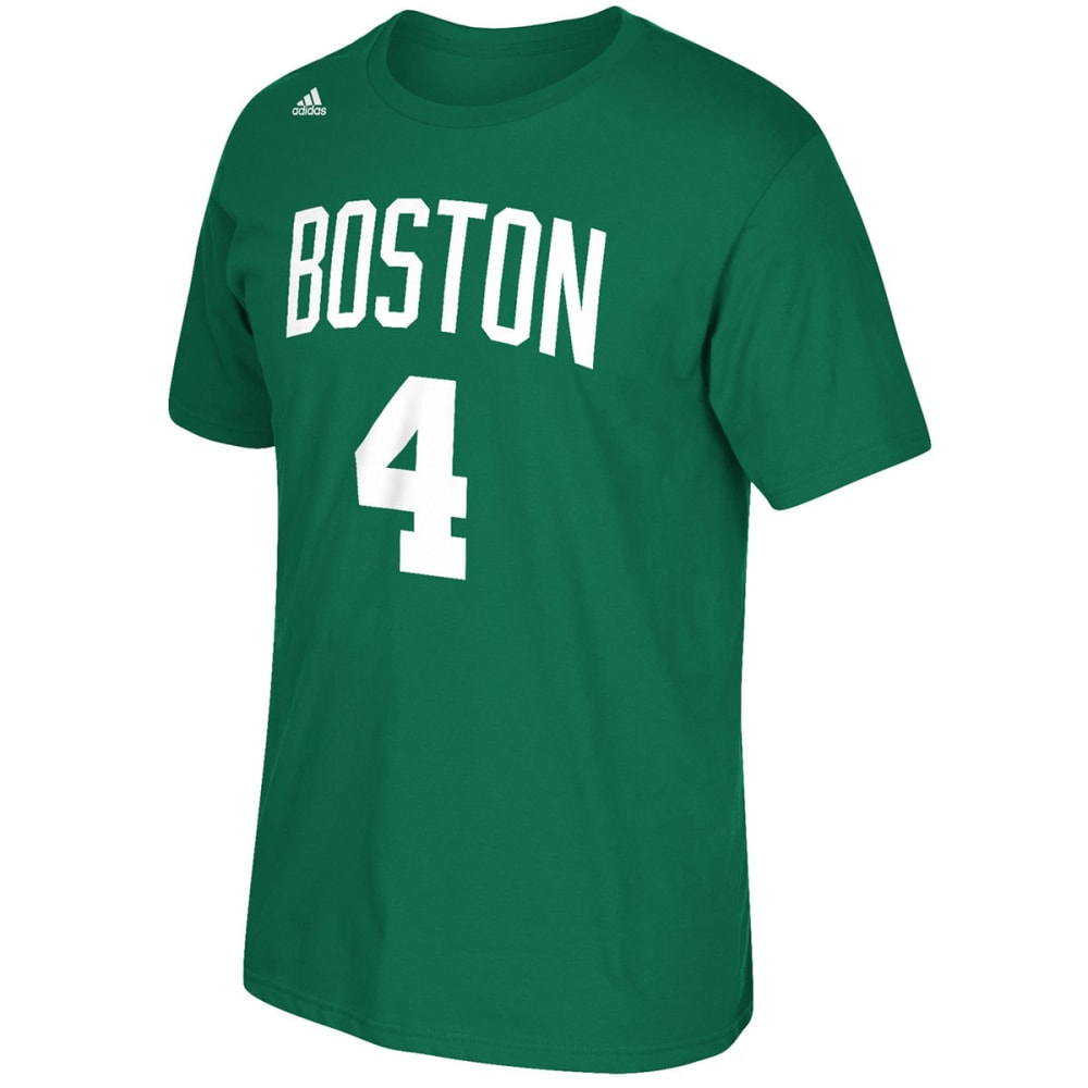 BOSTON CELTICS Men's Isaiah Thomas #4 Name and Number Short-Sleeve Tee - GREEN