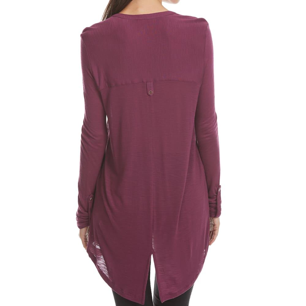 66aac6b5291 Maison Coupe Women's Border Print Roll-Tab Long-Sleeve Shirt   eBay