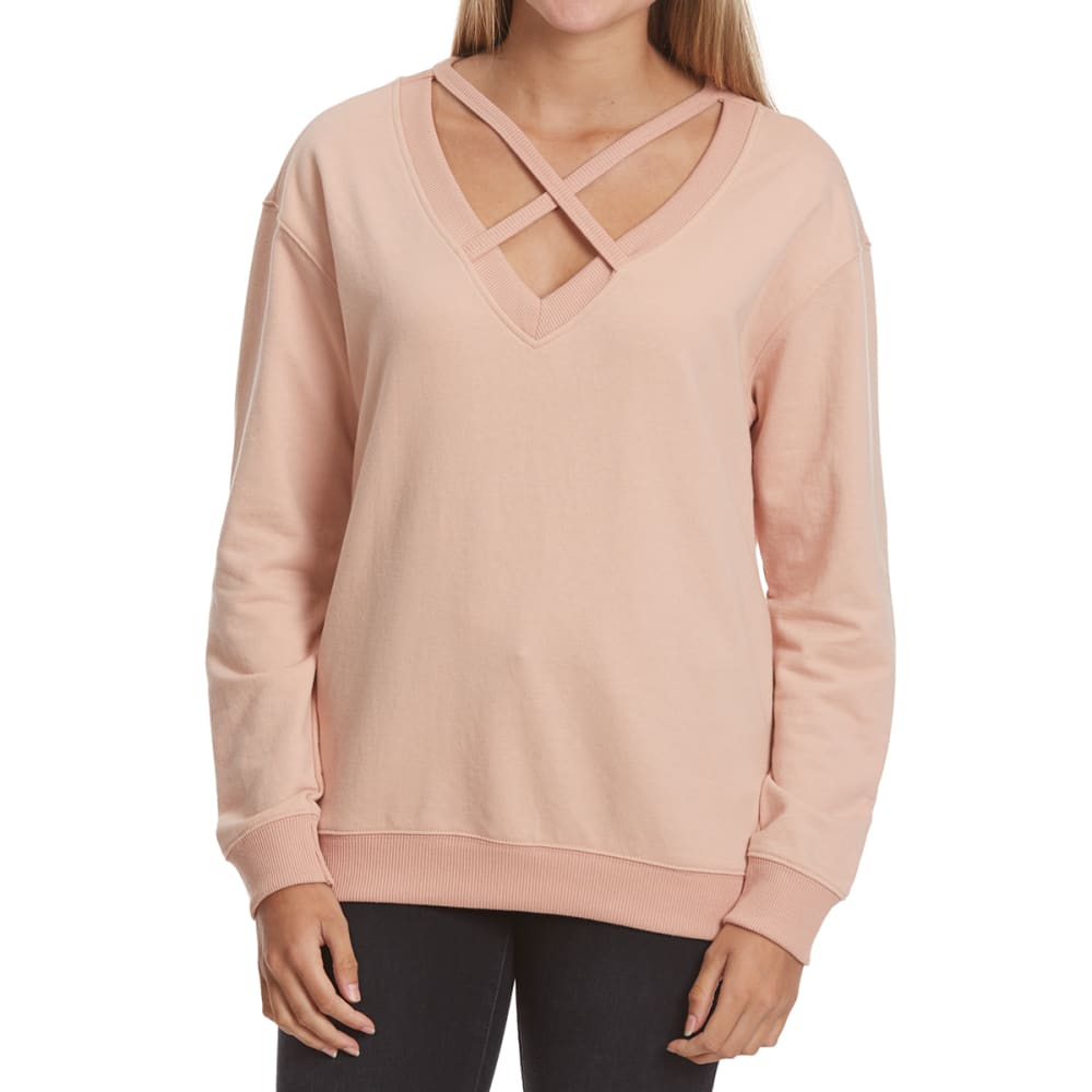 POOF Juniors' X-Front French Terry Pullover S