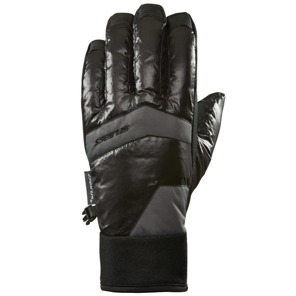 SEIRUS Men's Solarsphere™ Brink™ Gloves - BLACK