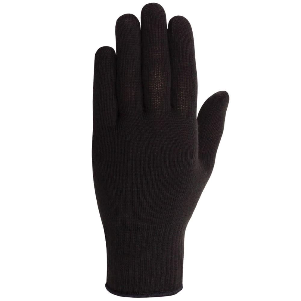 SEIRUS Men's Poly Pro Glove Liner - BLACK