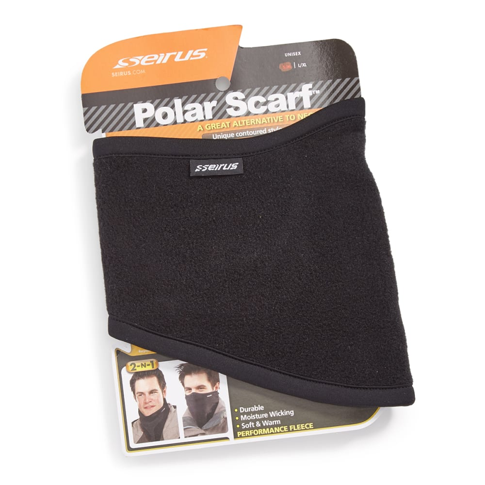 SEIRUS HWS Polar Scarf - BLACK