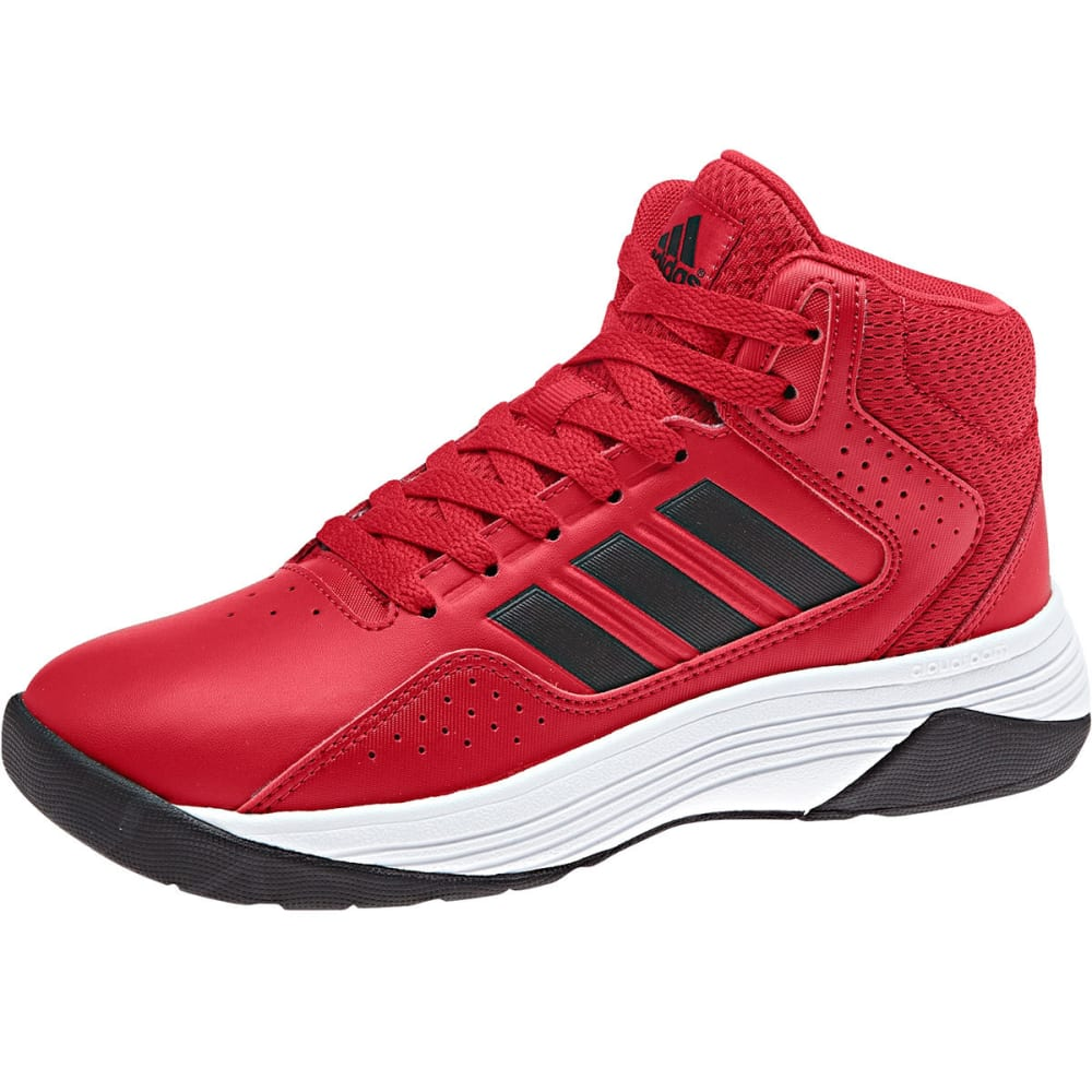 Adidas Little Boys Cloudfoam Ilation Mid Basketball Shoes - Red, 3.5