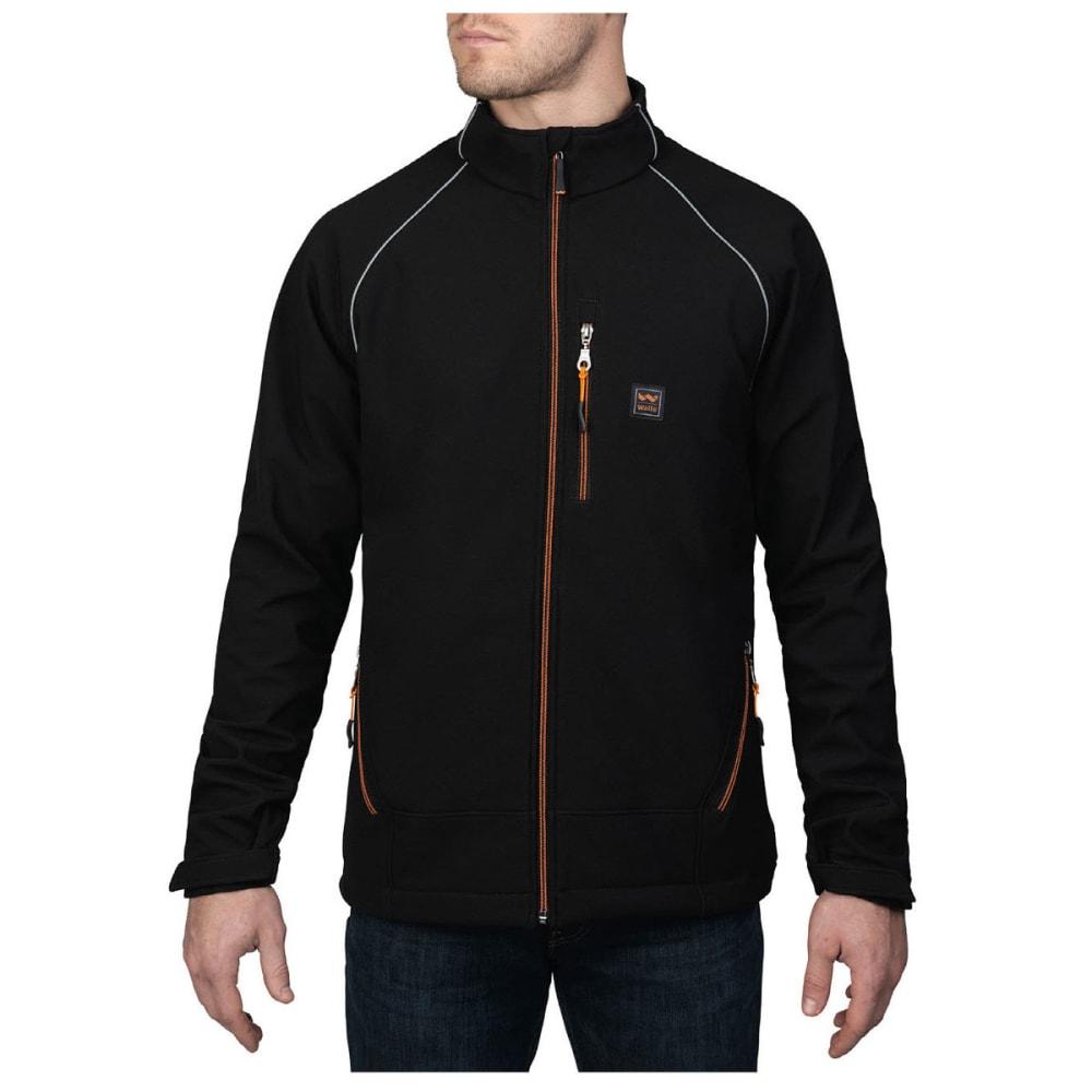 WALLS® Men's Storm Protector Solid Soft-shell Jacket - MK9 MIDNIGHT BLBLACK