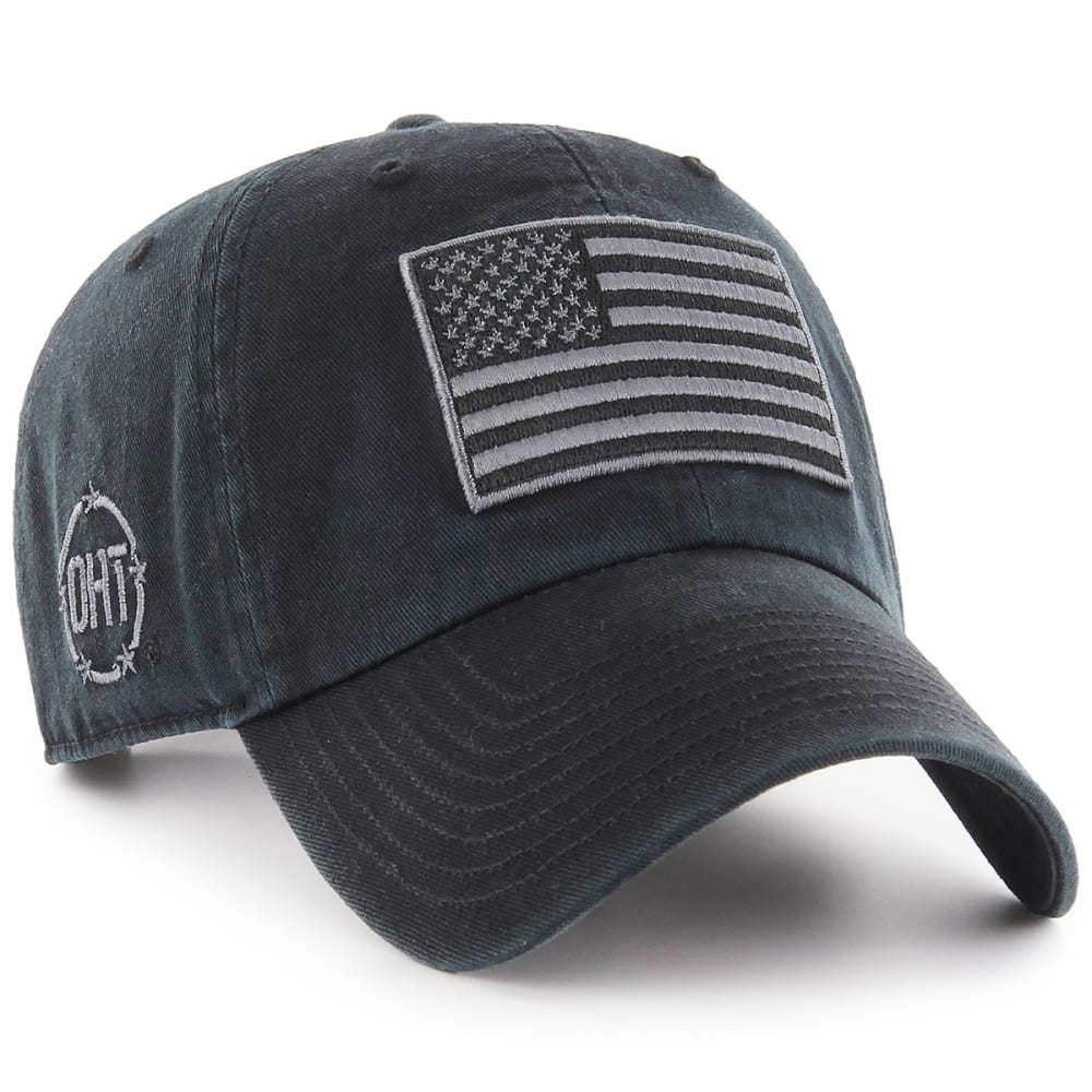 OPERATION OHT '47 Embroidered Clean Up Hat - BLACK