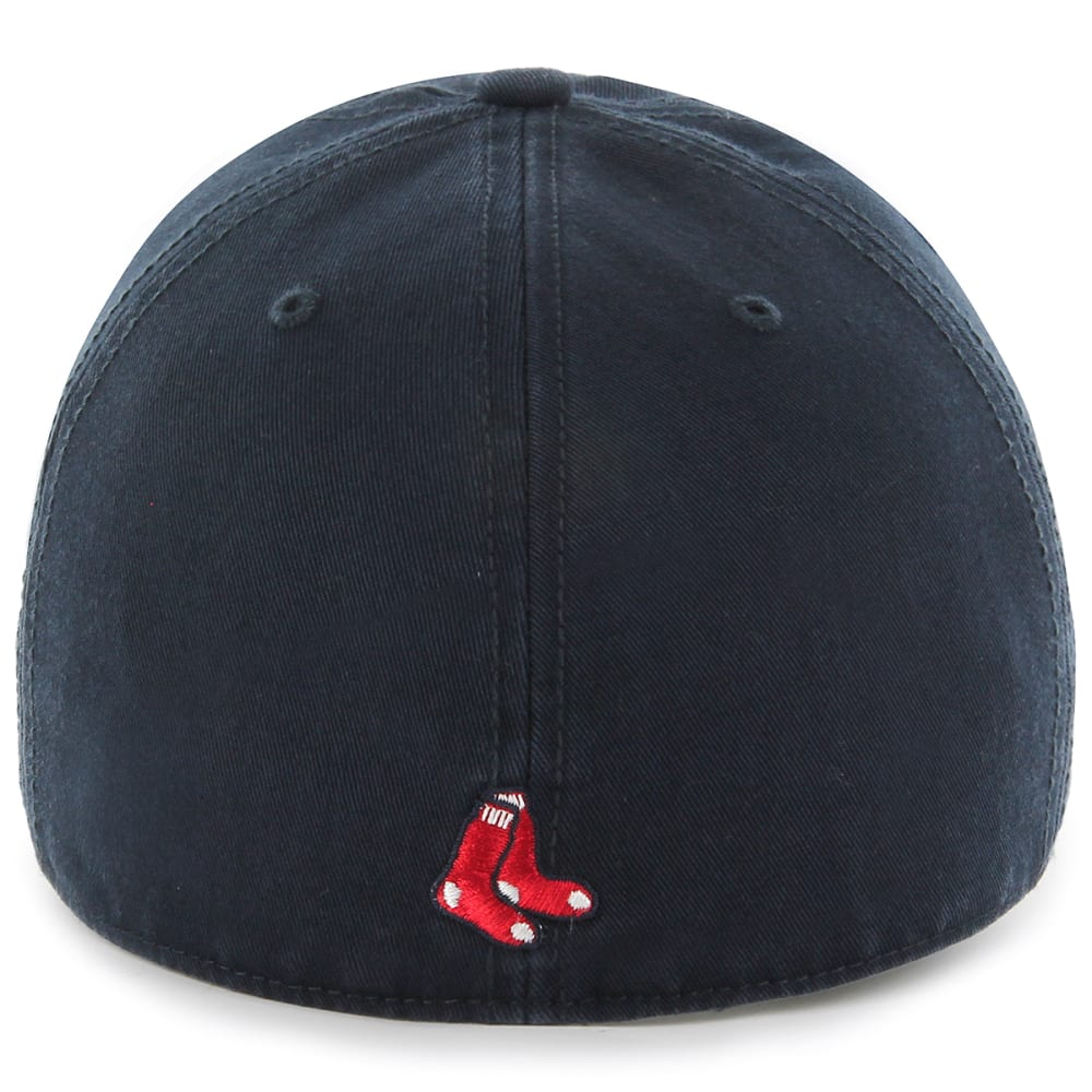 BOSTON RED SOX Men's '47 Franchise Fitted Cap, Navy - NAVY