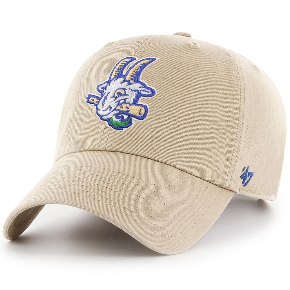Hartford Yard Goats Men's 47 Clean Up Adjustable Cap, Khaki - Brown, ONESIZE