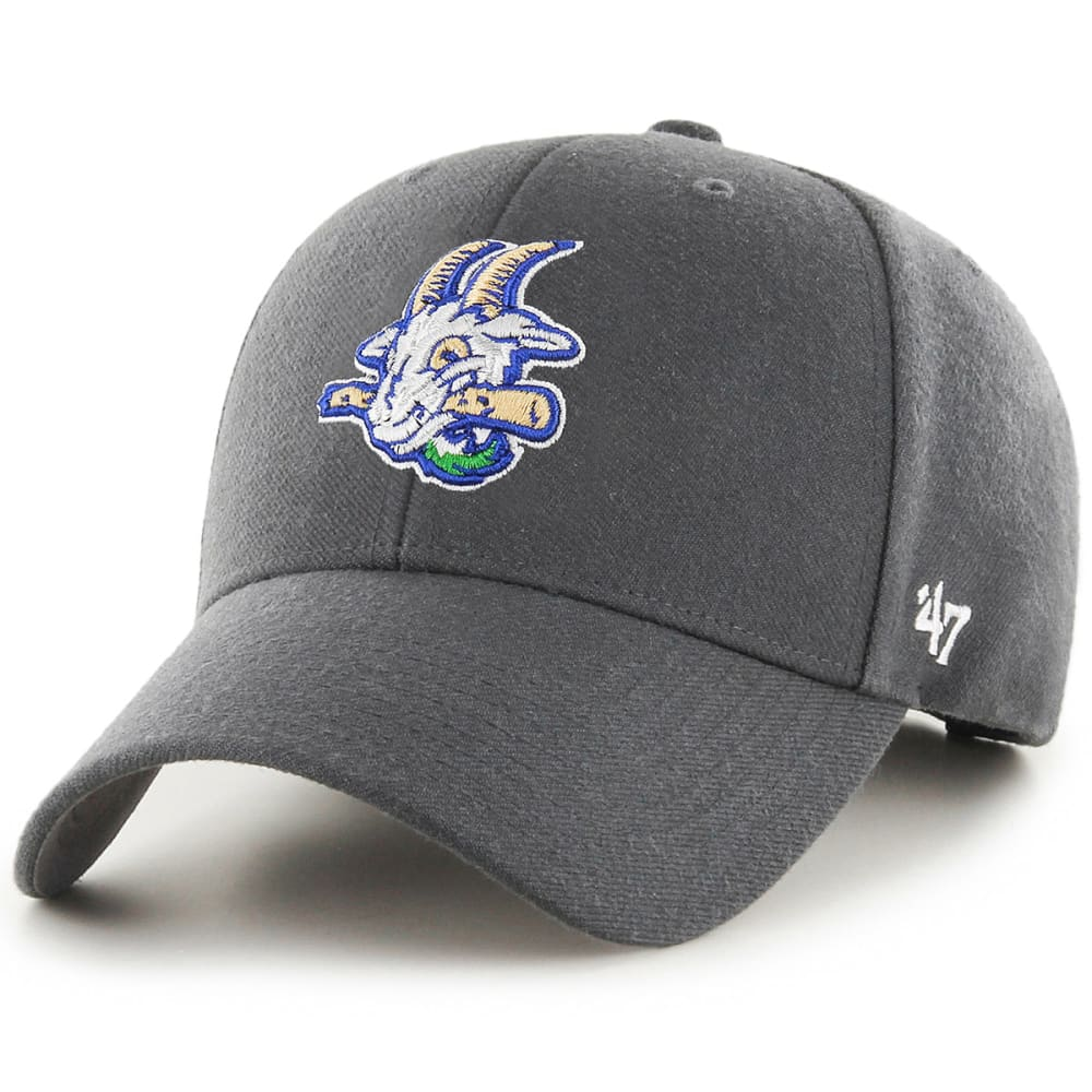 Hartford Yard Goats 47 Mvp Adjustable Hat - Black, ONESIZE