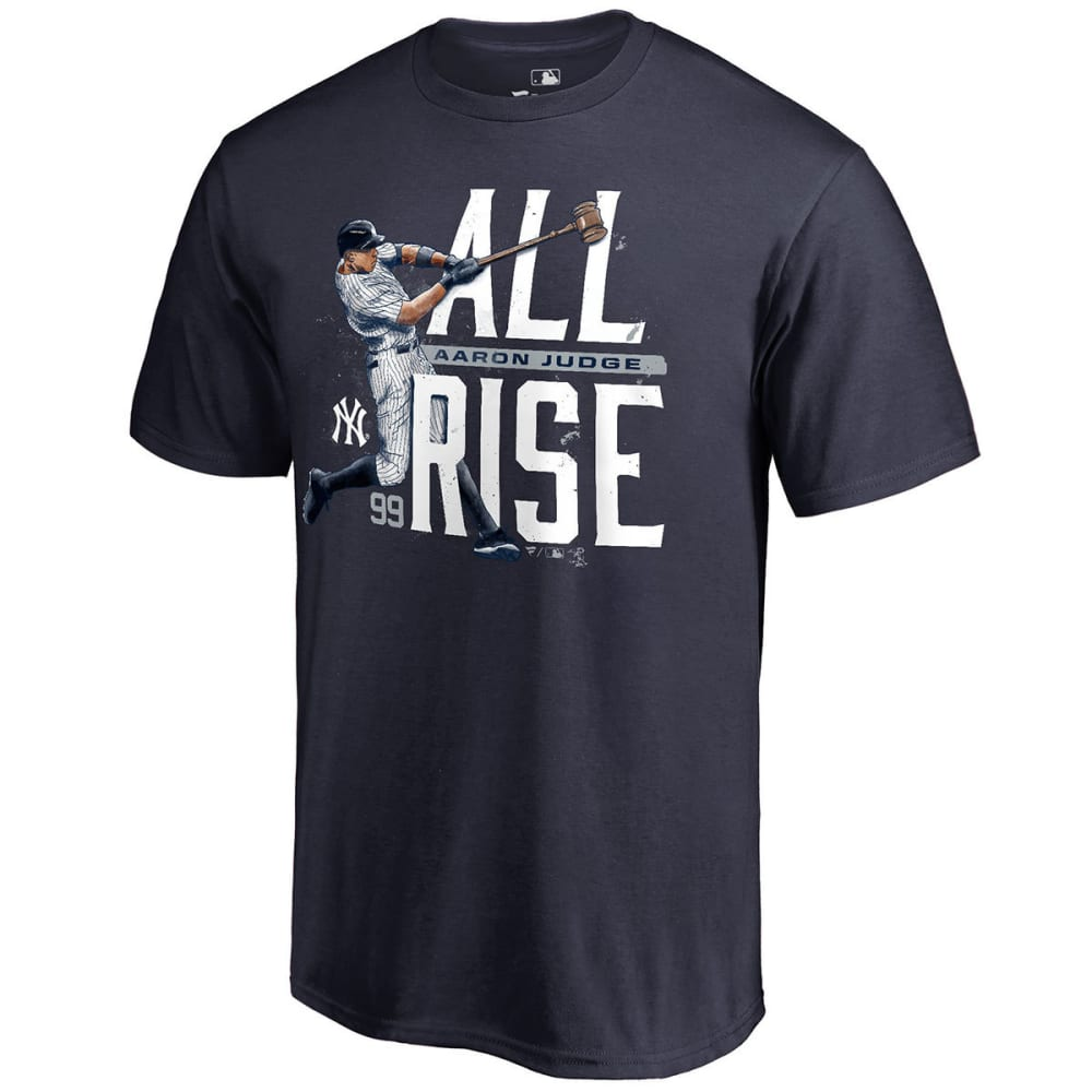 NEW YORK YANKEES Men's Aaron Judge All Rise Short-Sleeve Tee - NAVY