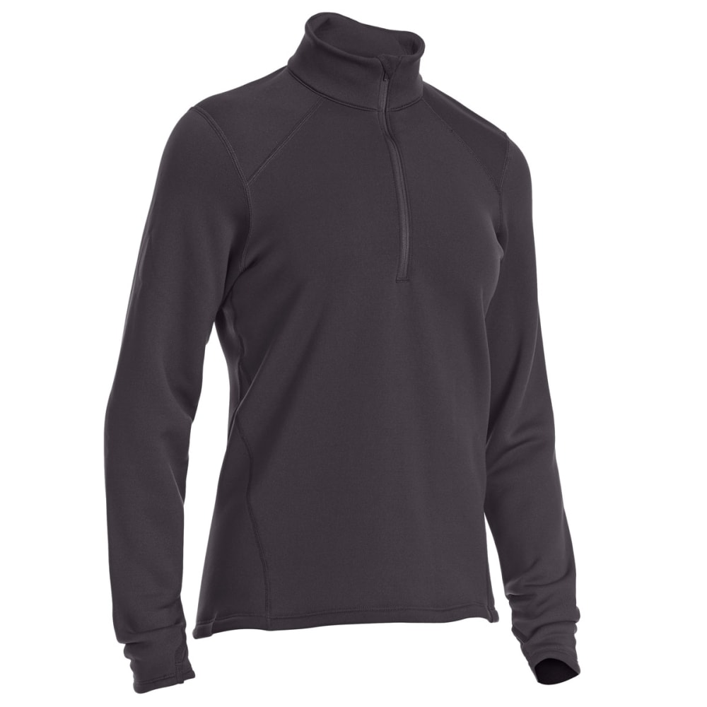 Ems(R) Women's Techwick(R) Heavyweight  1/4-Zip Base Layer Top - Black, XL