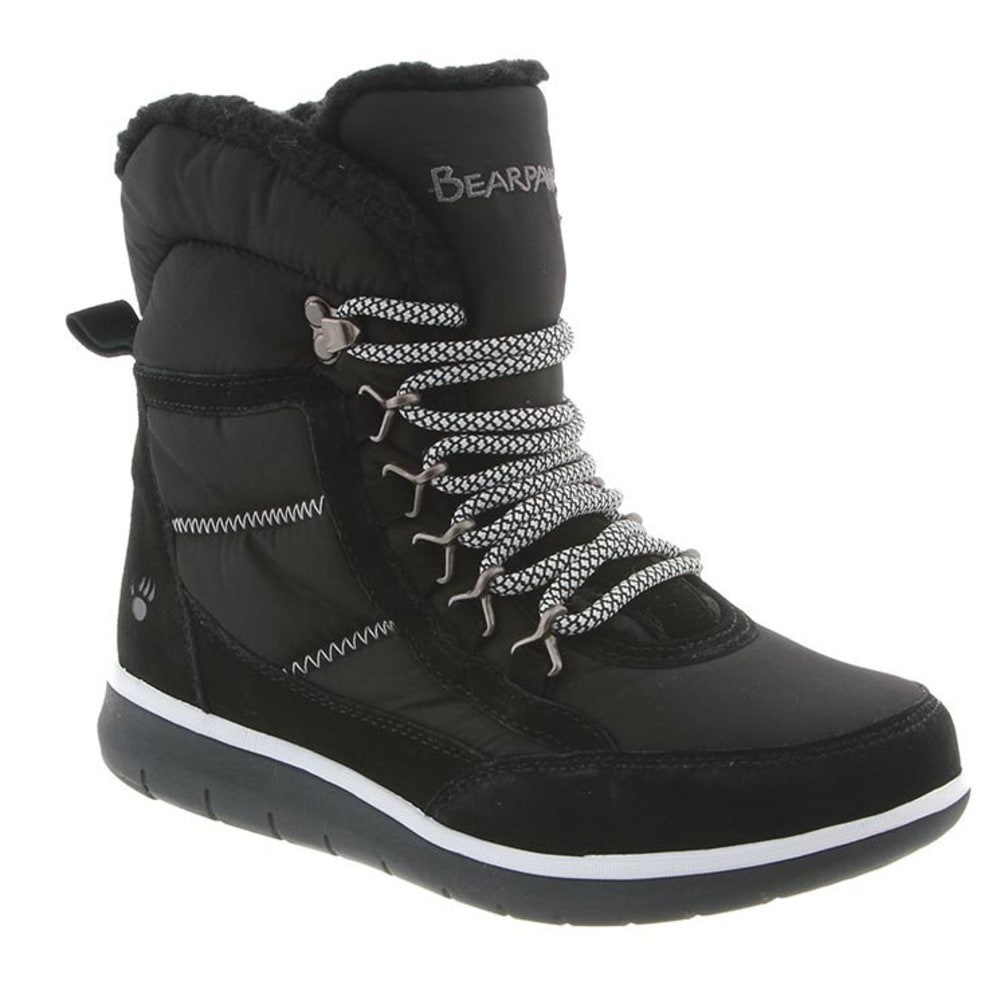 BEARPAW Women's Ruby Boots, Black - BLACK