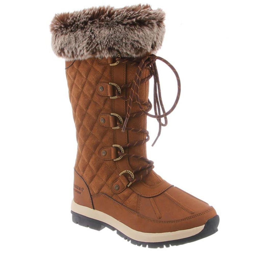 BEARPAW Women's Gwyneth Boots, Hickory - HICKORY II