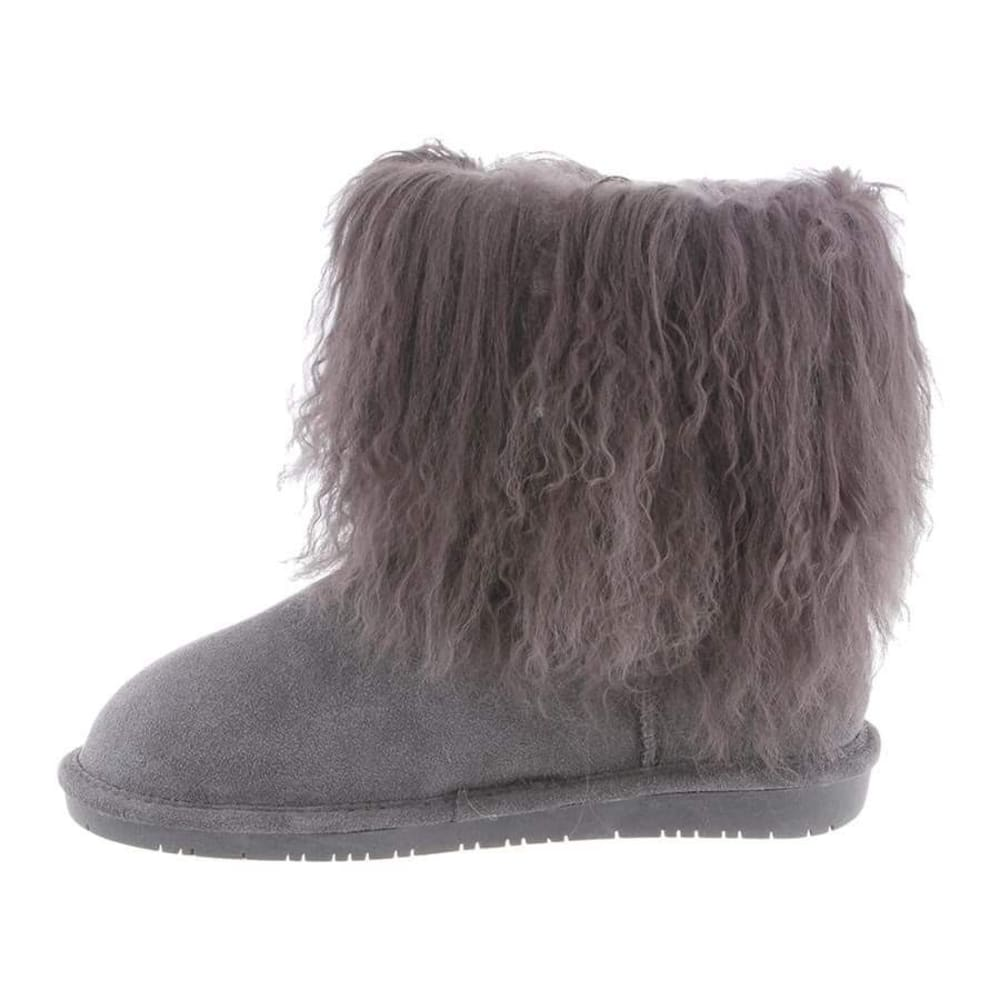 BEARPAW Women's Boo Boots, Charcoal - CHARCOAL