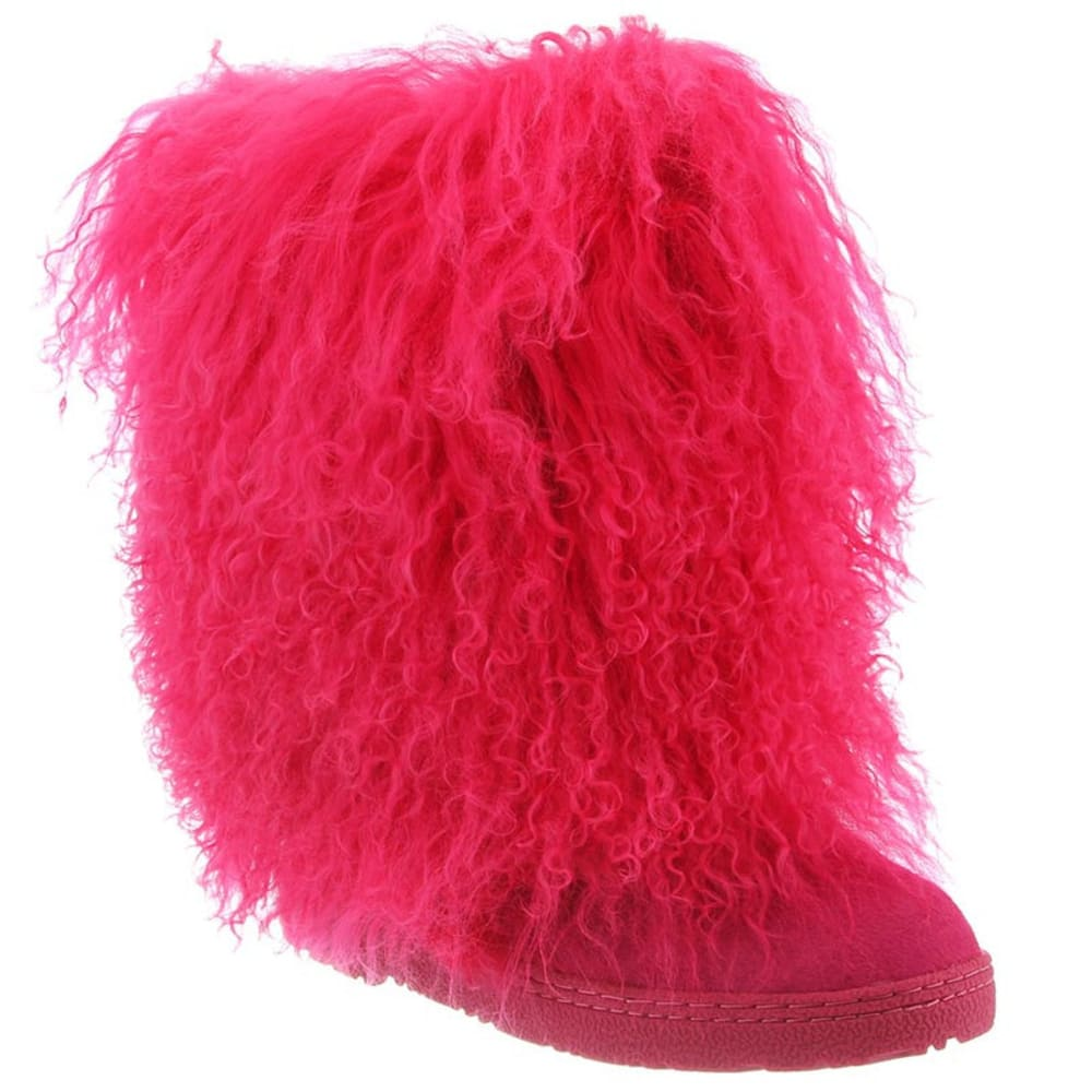 Bearpaw Women's Boetis Ii Boots, Electric Pink - Red, 6
