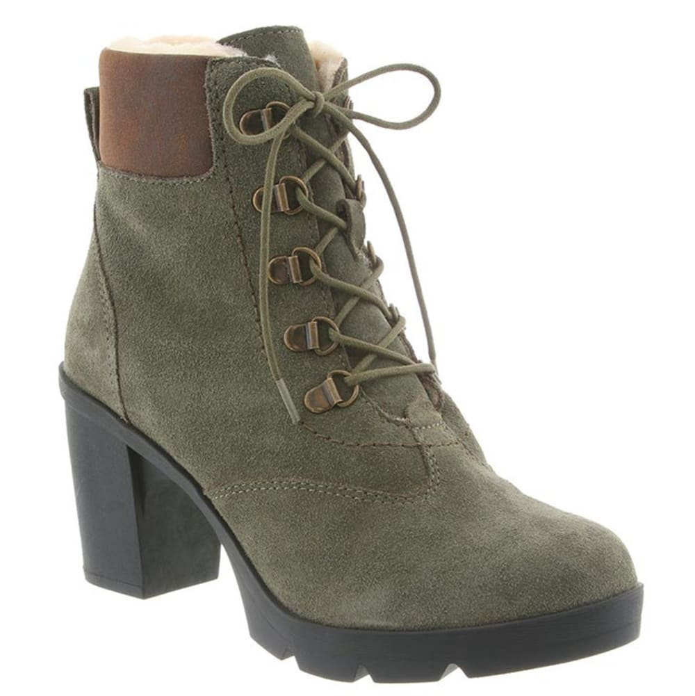 BEARPAW Women's Marlowe Boots, Olive - OLIVE