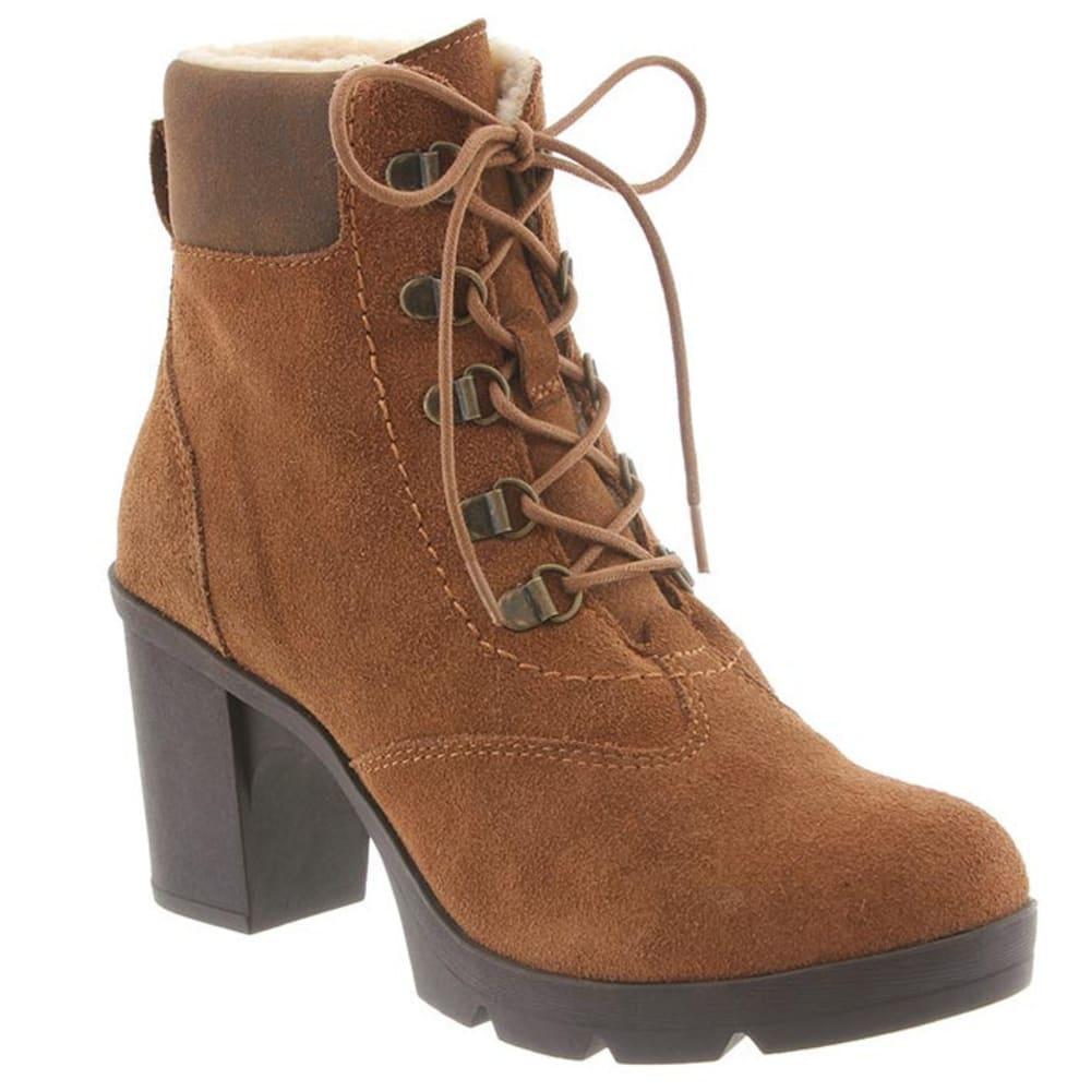 BEARPAW Women's Marlowe Boots, Hickory/Chocolate - HICKORY/CHOCOLATE