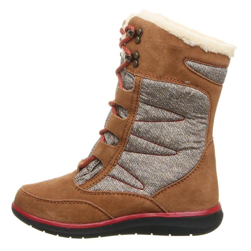 BEARPAW Women's Aretha Boots, Black II - HICKORY II