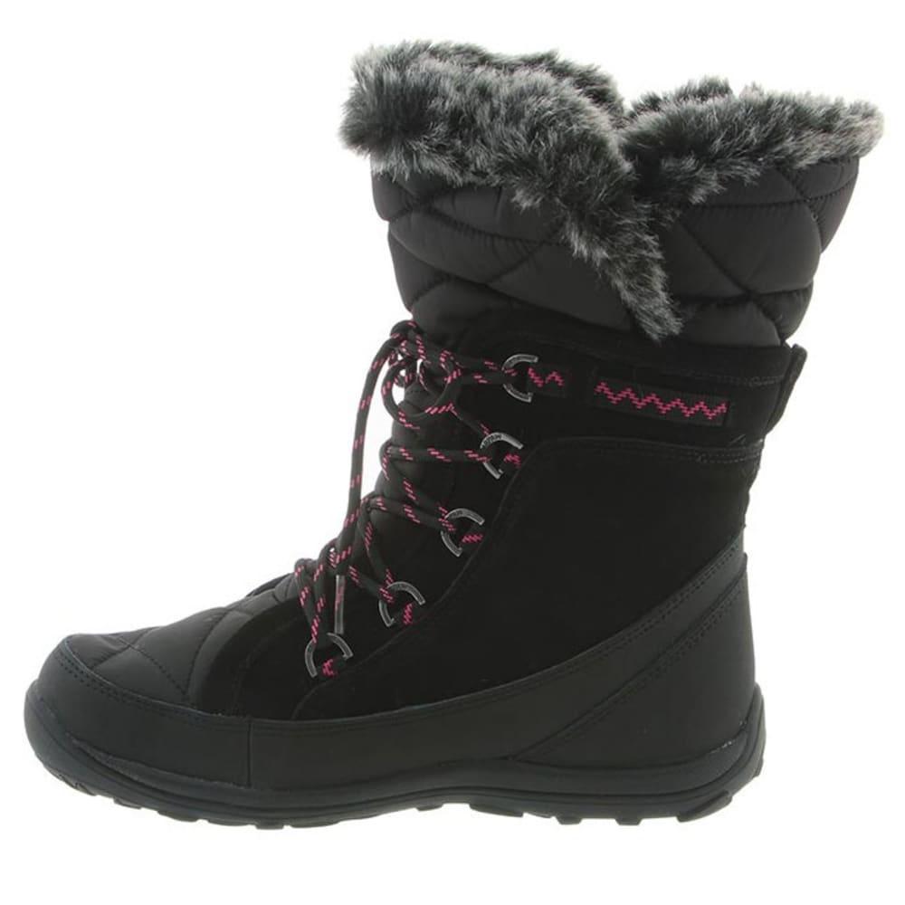BEARPAW Women's Whitney Boots, Black II - BLACK II