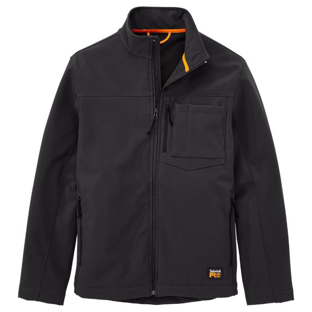 TIMBERLAND PRO Men's Power Zip Windproof Soft Shell Jacket - 015 BLACK