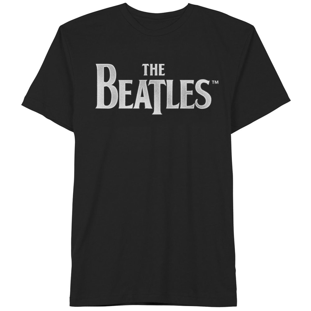 HYBRID Guys' Beatles Logo Tee - BLACK
