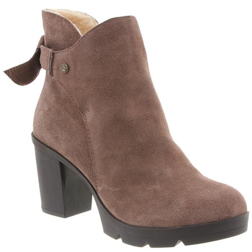 BEARPAW Women's Eden Boots, Taupe - TAUPE
