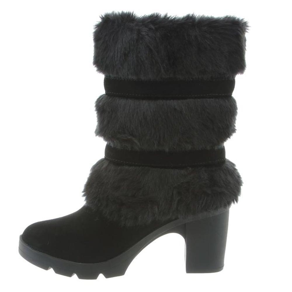 BEARPAW Women's Bridget Boots, Black II - BLACK II