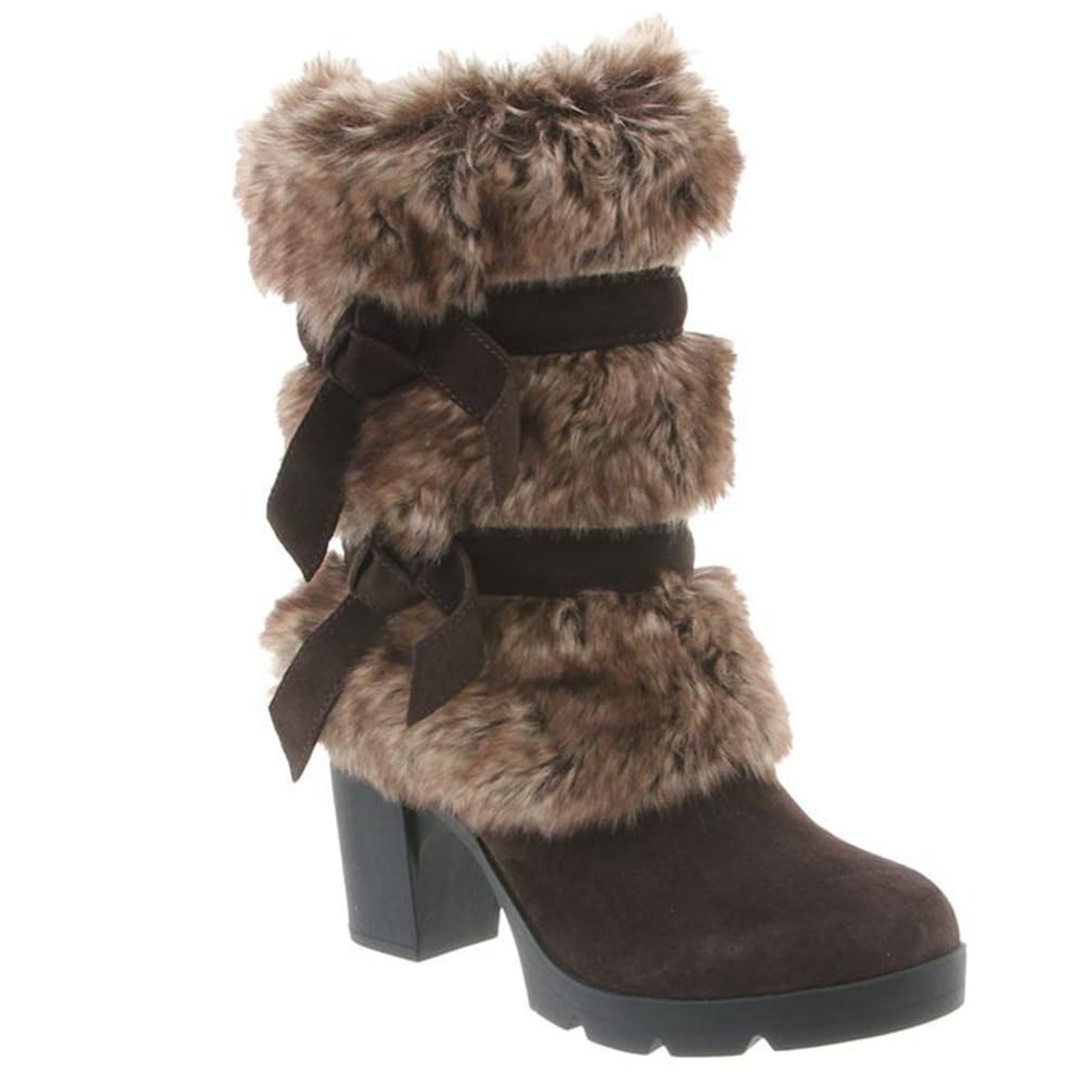 Bearpaw Women's Bridget Boots, Chocolate Ii - Brown, 5