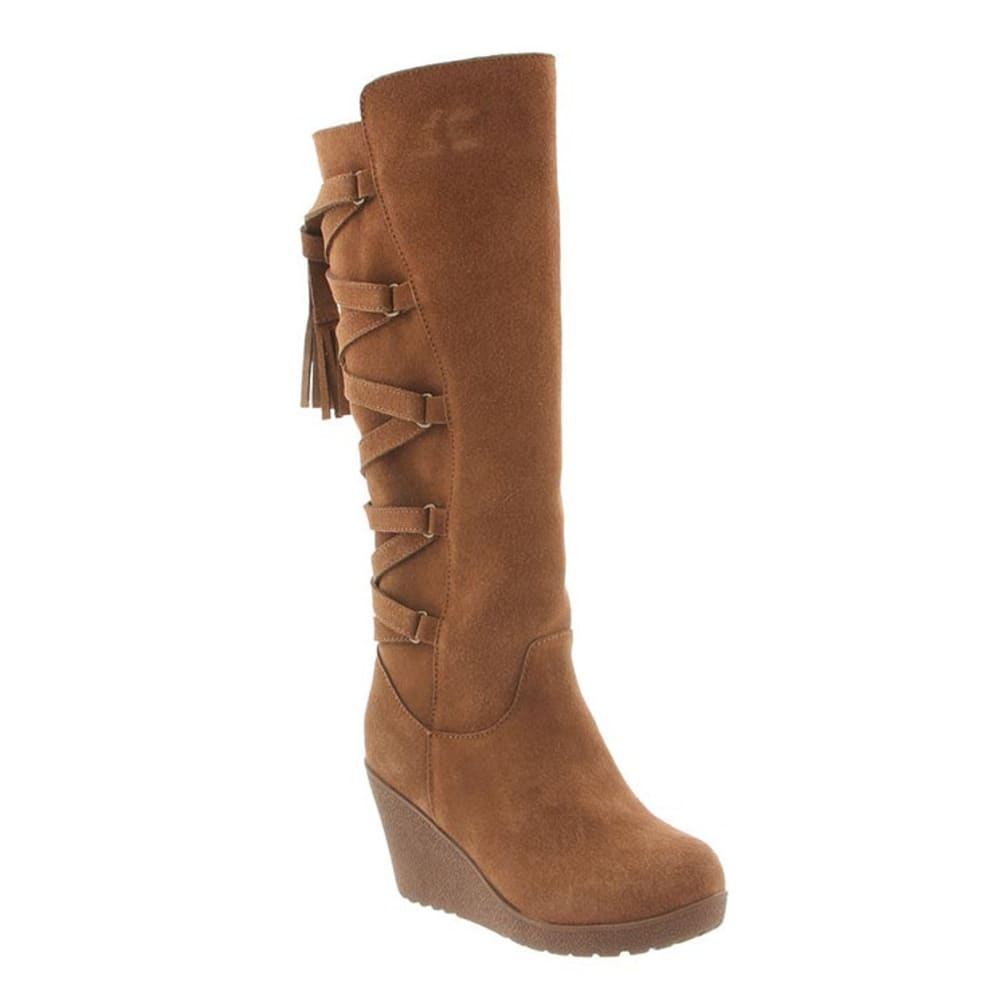 Bearpaw Women's Britney Boots, Hickory Ii - Brown, 5