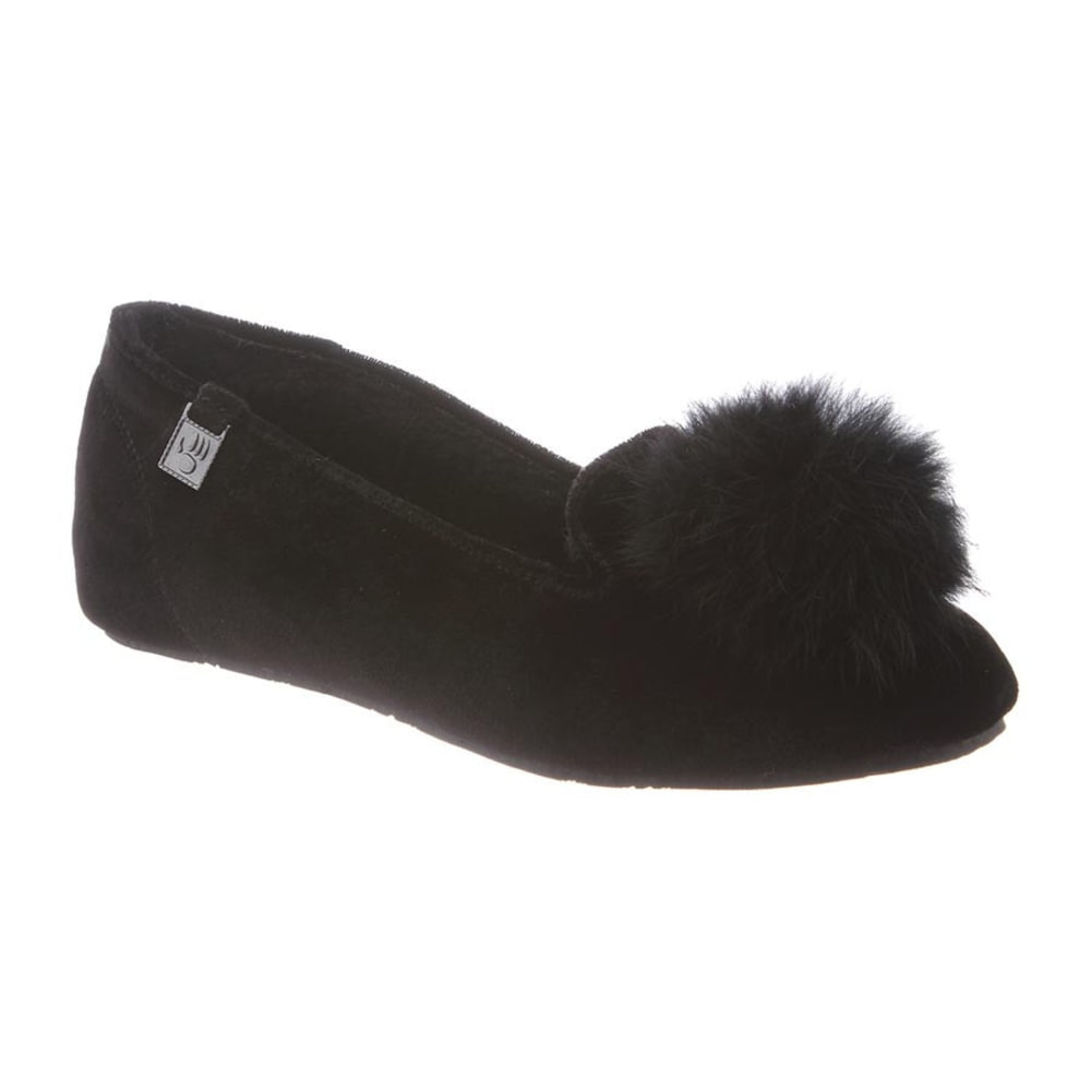 BEARPAW Women's Shae Shoes, Black II - BLACK II